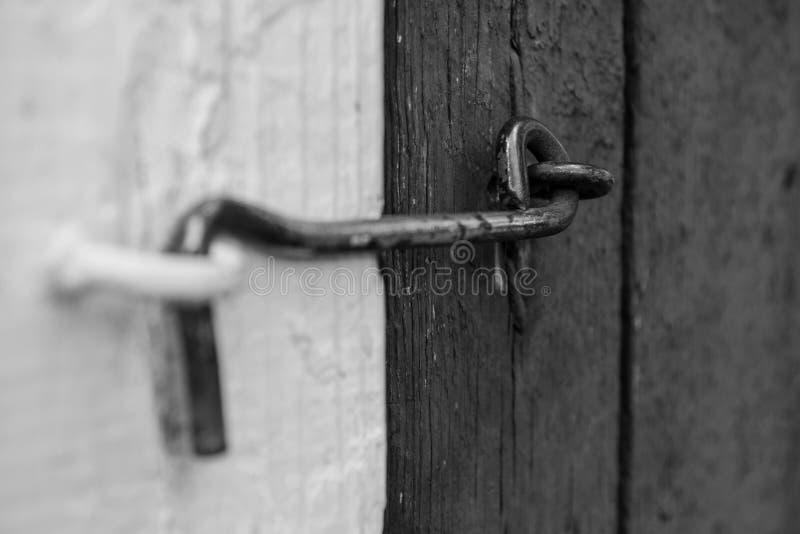 Dörren låser arkivbilder