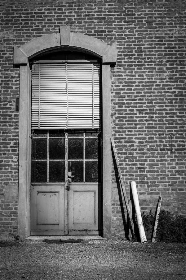 Dörren till helvetet royaltyfria foton