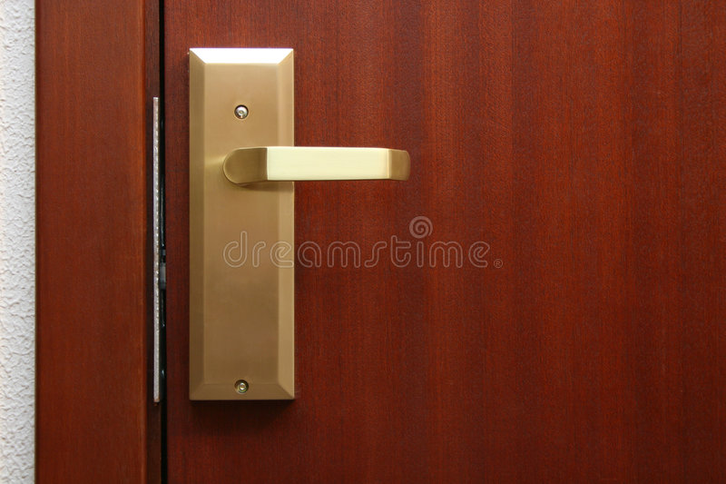 dörrhotellrum arkivbilder