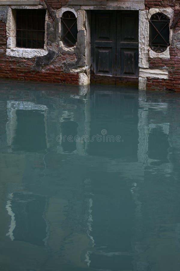 Dörrkanalen stängde sig royaltyfri fotografi