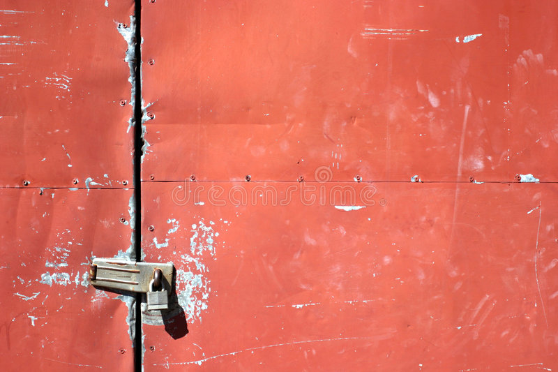 dörrmetall arkivfoto