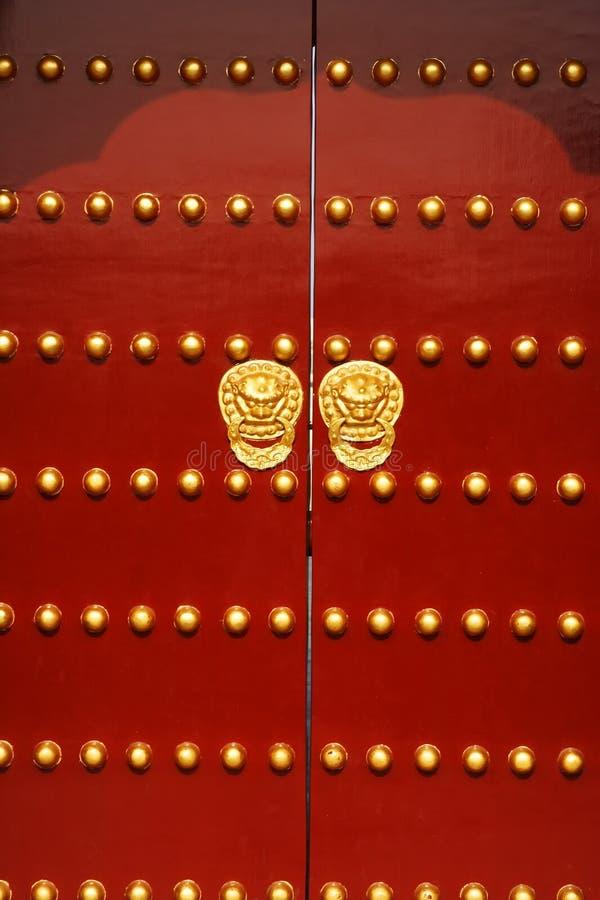dörrred royaltyfri bild