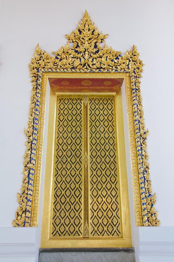dörrtempel royaltyfri fotografi
