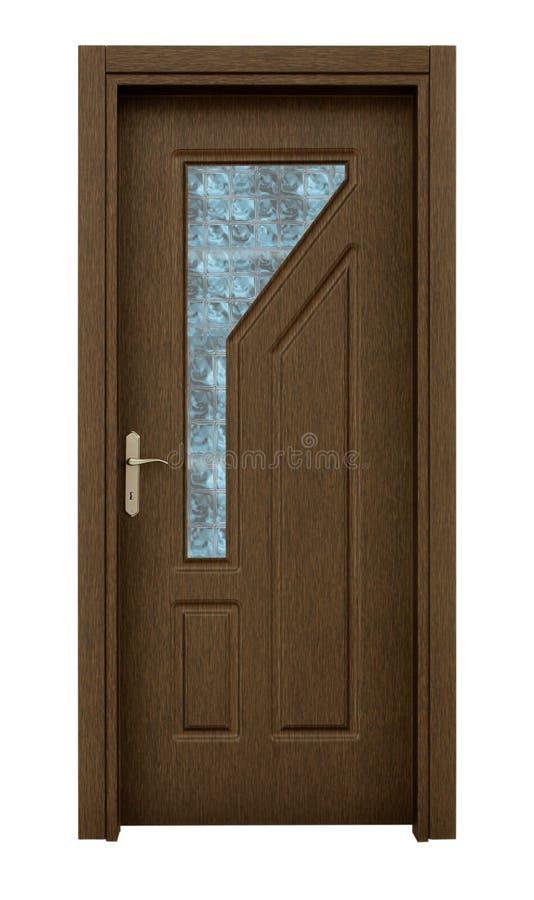 dörrträ royaltyfri bild