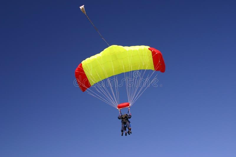 Dúo del Paragliding imágenes de archivo libres de regalías