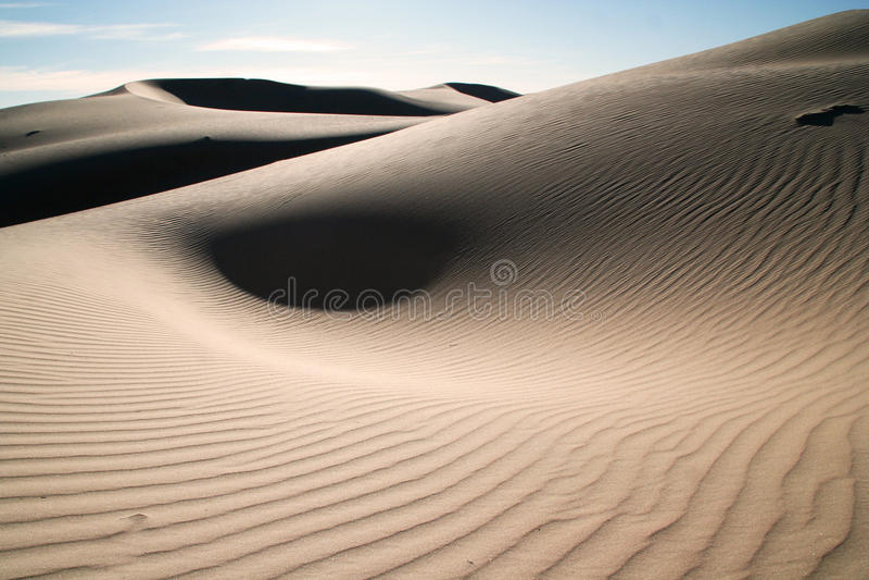 Dünenlandschaft stockfotografie