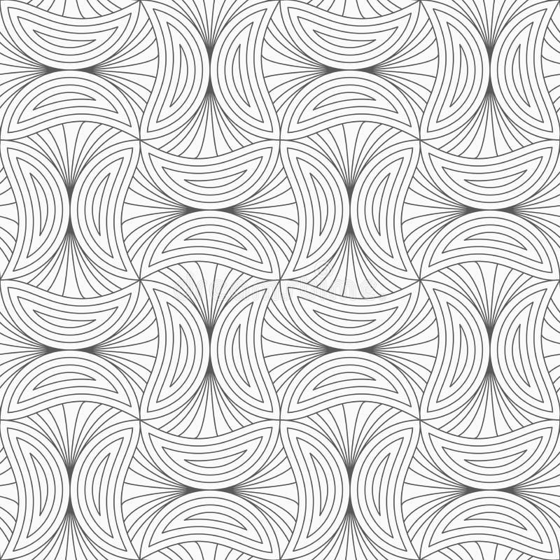 Dünne graue gestreifte Pilze lizenzfreie abbildung