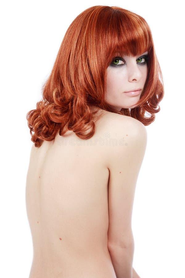 Dünner Redhead stockfoto