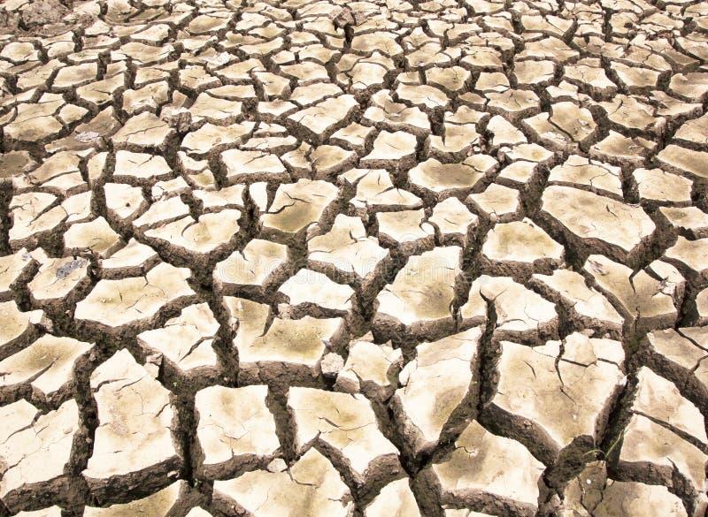 Dürre-ausgetrockneter Boden lizenzfreies stockfoto
