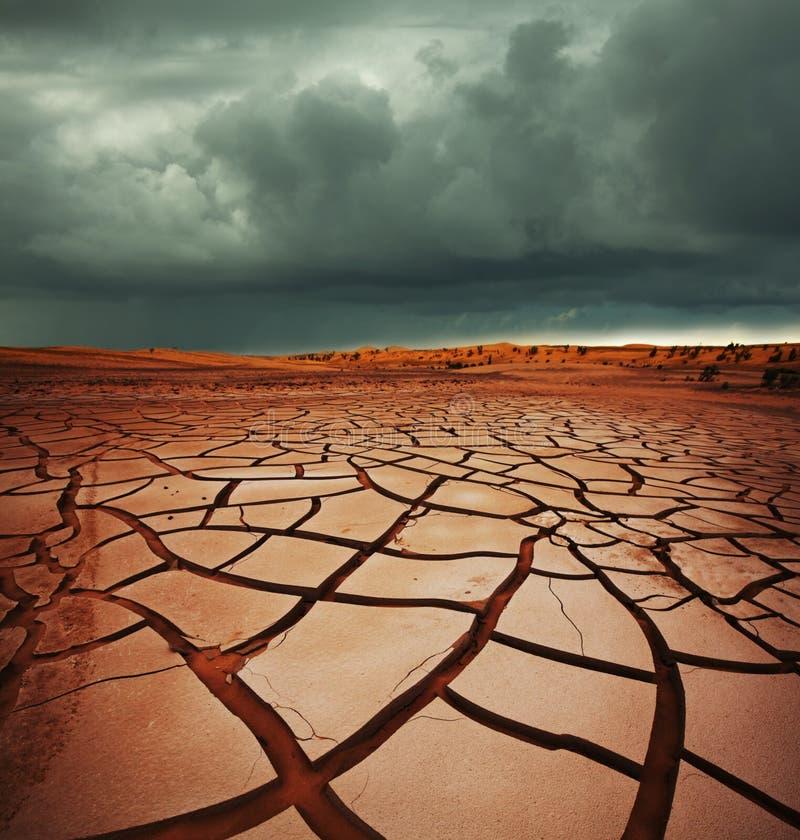 Dürreland stockfotografie