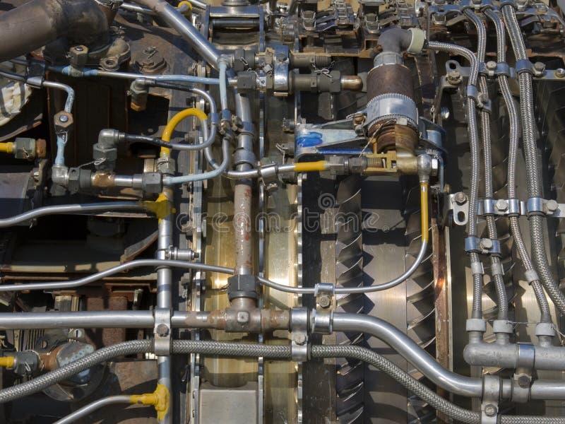 Düsentriebwerk stockbilder