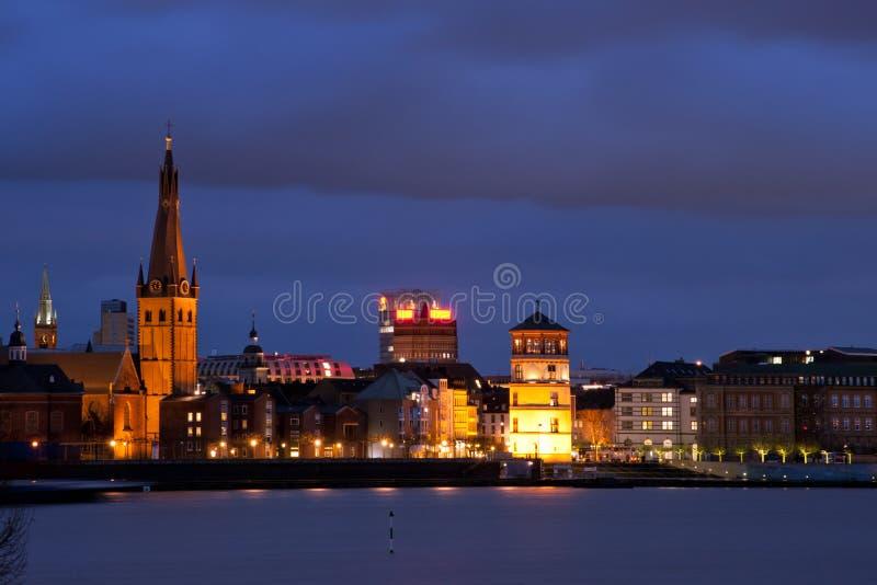 Düsseldorf Altstadt imagen de archivo libre de regalías