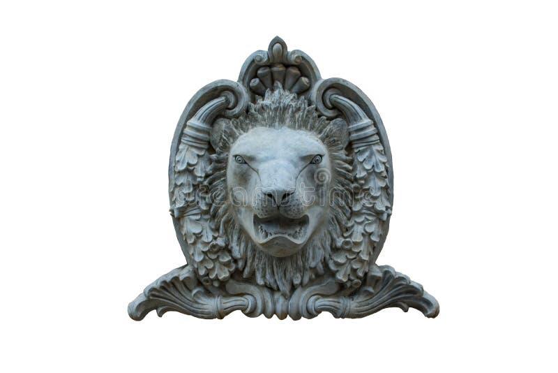 Düsterer Löwe lizenzfreie stockbilder