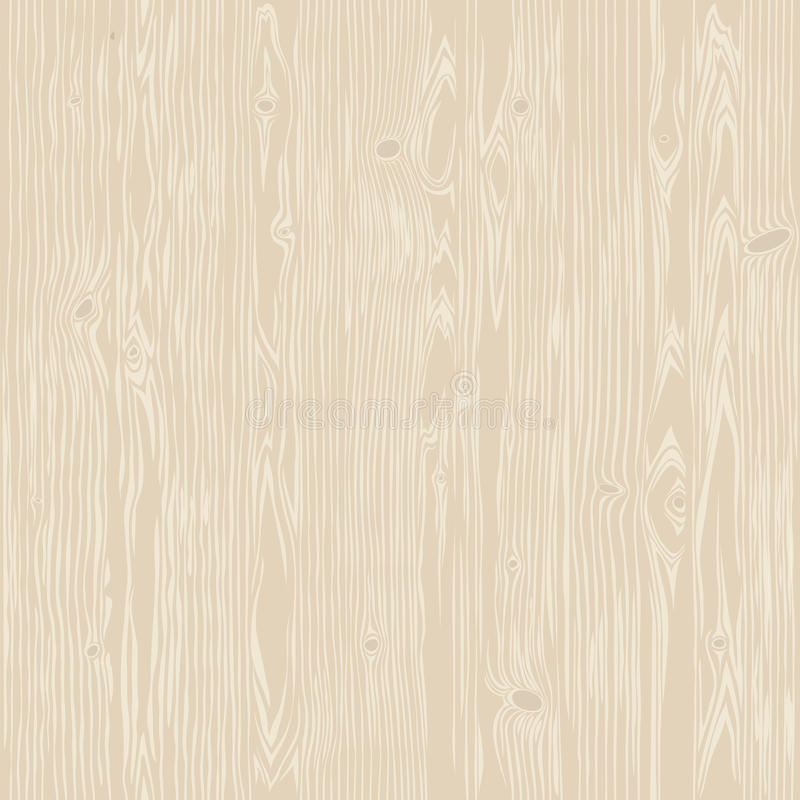 Dębowego drewna Bieląca Bezszwowa tekstura ilustracji