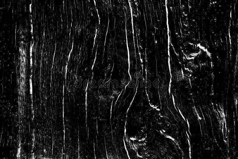 Dębowego drewna tekstura wypełniająca z pęknięciami i kępkami, projektuje drewnianego tło dla narzuty ilustracja wektor