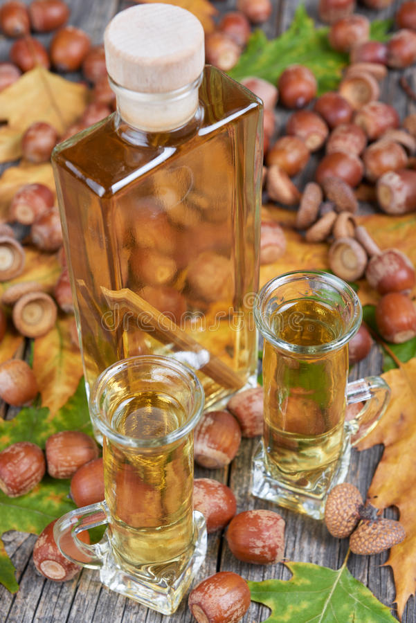 Dębowego drzewa alkohol obraz stock