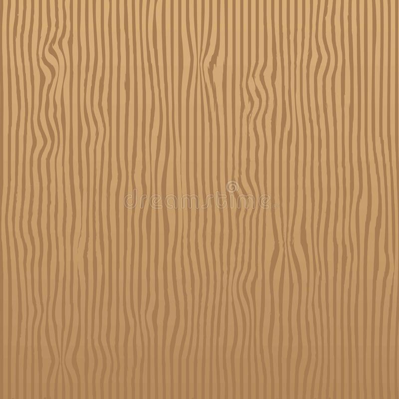 Dębowy Brown pionowo lampasów tekstury wzór bezszwowy dla Realisti ilustracji
