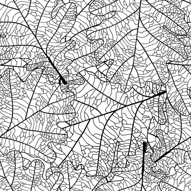 Dębowy liść ilustracji