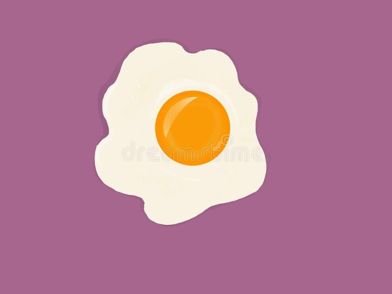 Dłoniaka jajko zdjęcia stock