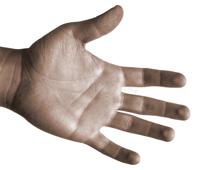 dłonie odosobnione do rąk zdjęcia royalty free