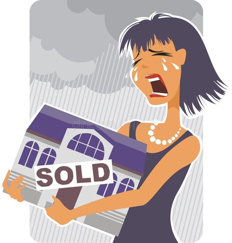 dług sprzedaż ilustracja wektor