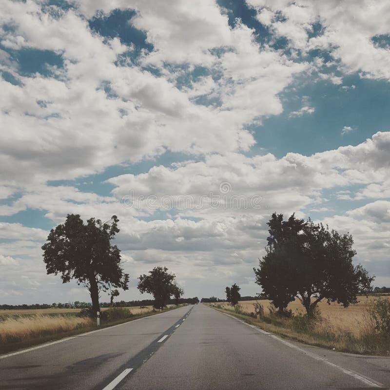 długa podróż obraz stock