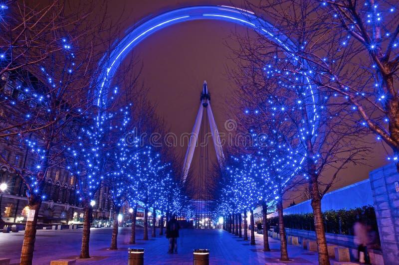 Długi ujawnienie milenium oka błękit zdjęcie royalty free