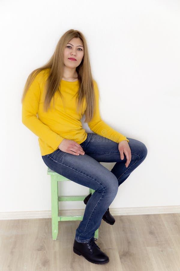 długie włosy g - girl young zdjęcia stock