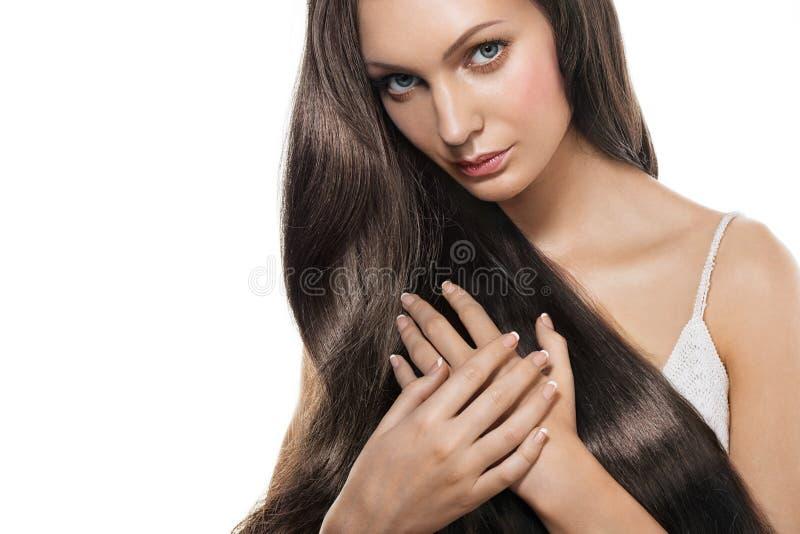długie włosy kobiety zdjęcie royalty free
