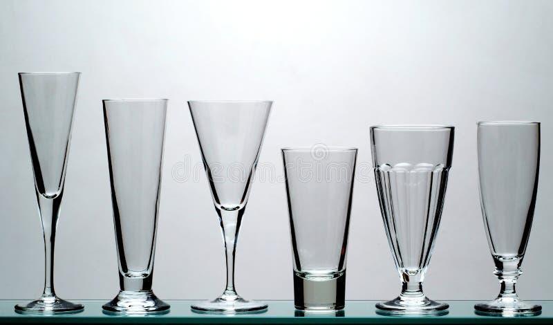 długo szkła napojów. obraz stock