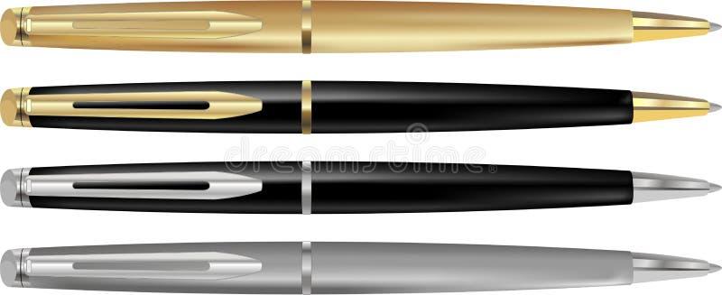 długopis. ilustracji