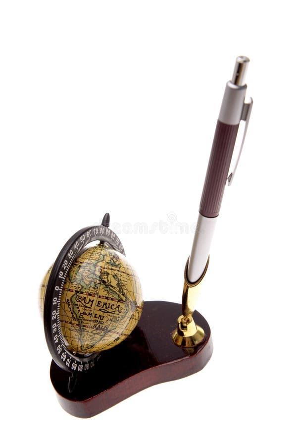 długopis posiadacza zdjęcie stock