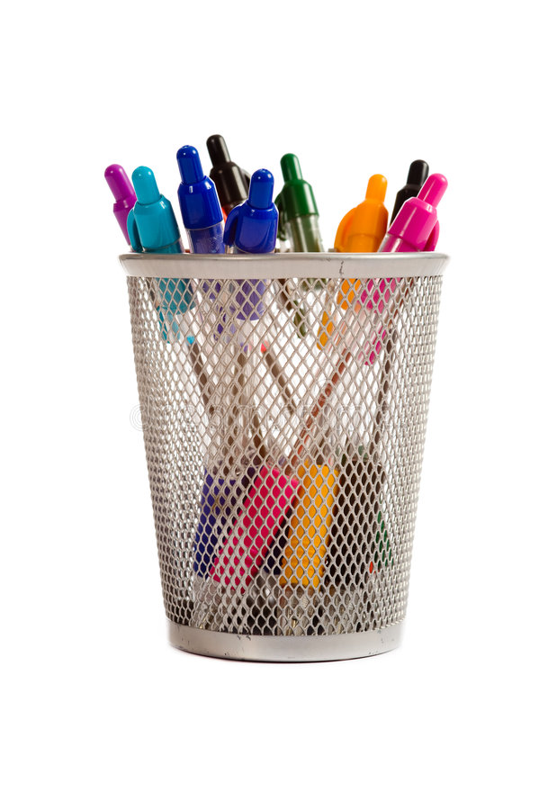 długopis posiadacza obrazy stock