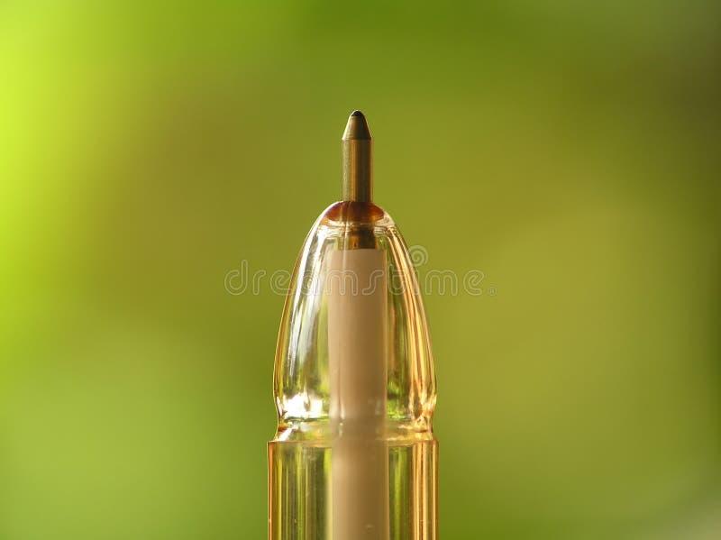 długopisy ballpoint punktu żółty zdjęcia stock