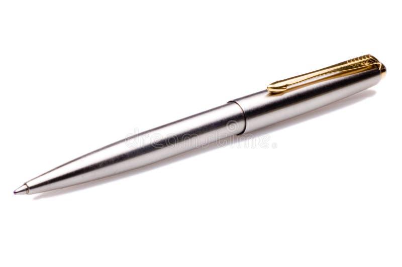 długopisy srebra obraz royalty free