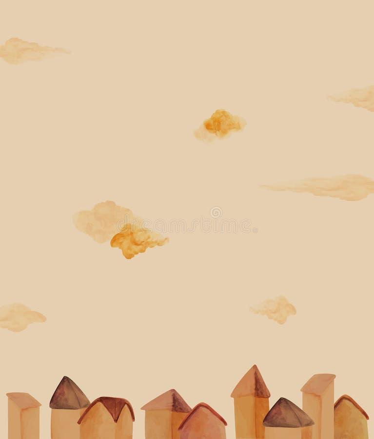 Dźwięk chmury ilustracji