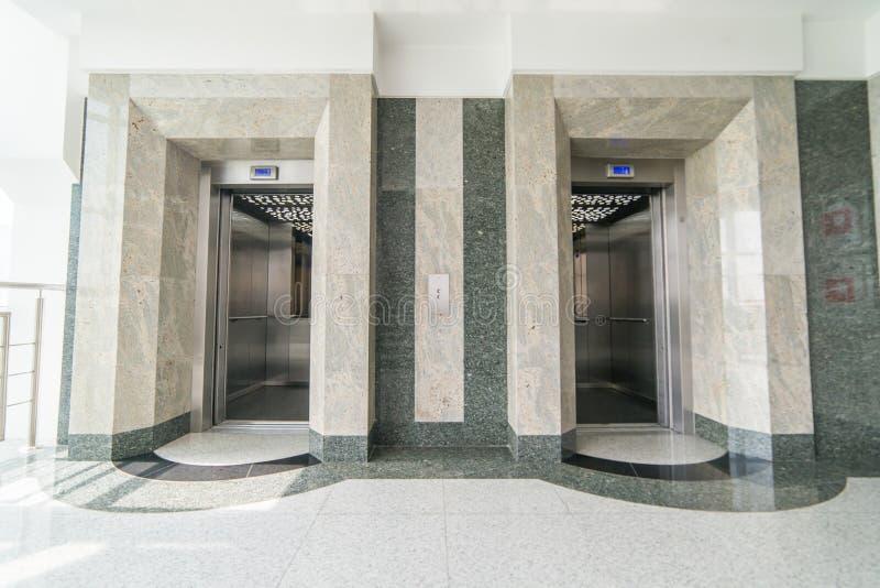 Dźwignięcie lobby obrazy stock