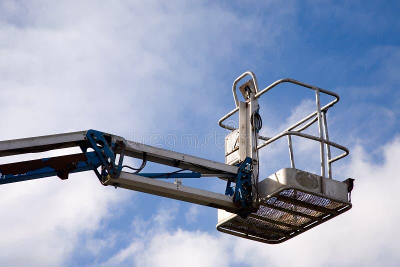 dźwigowa platforma obrazy stock