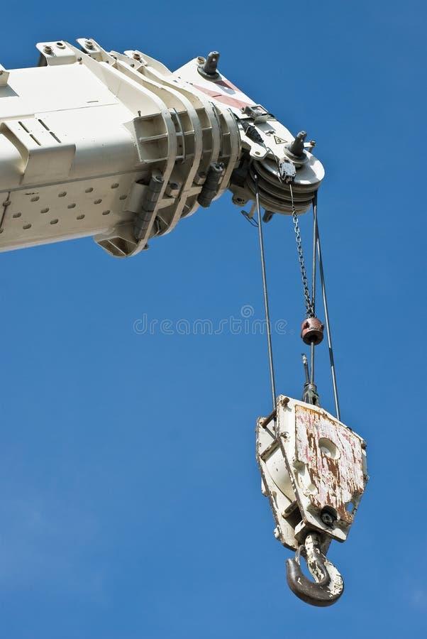 dźwigowy hydrauliczny zdjęcia stock