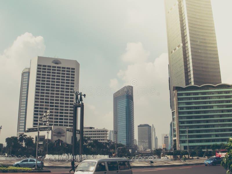 Dżakarta centrala, Indonezja fotografia royalty free