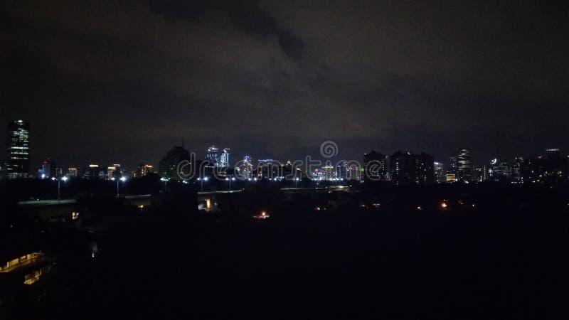 Dżakarta noc zdjęcie stock