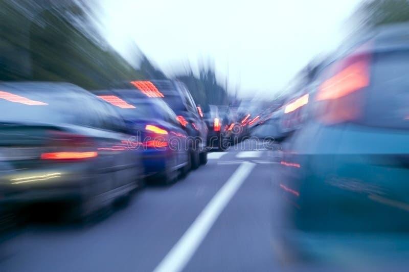 dżemu ruch drogowy zdjęcia stock