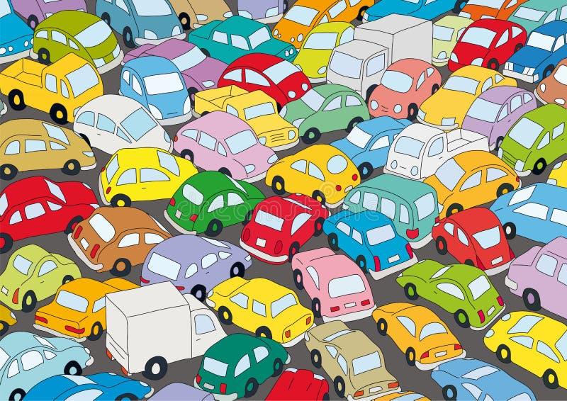 dżemu samochodowy ruch drogowy