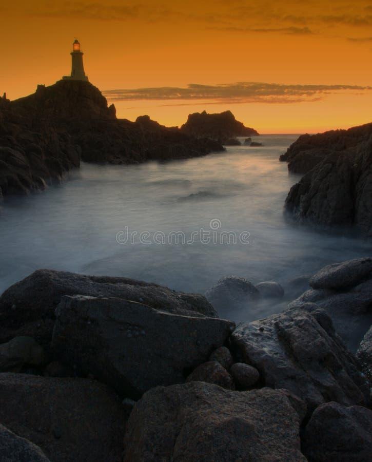 dżersejowa latarnia morska zdjęcia stock