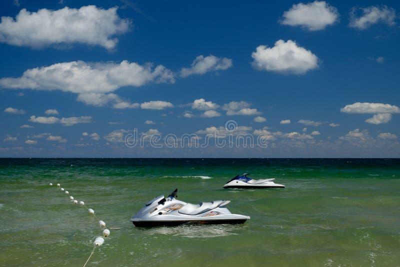 D?etowe narty na Czarnym morzu w Nessebar Bu?garia leisure fotografia stock