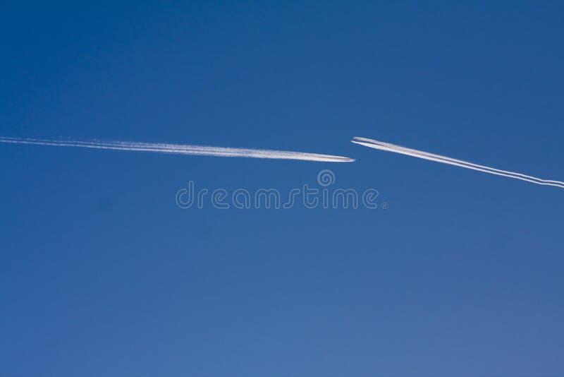 dżetowi samoloty obraz stock