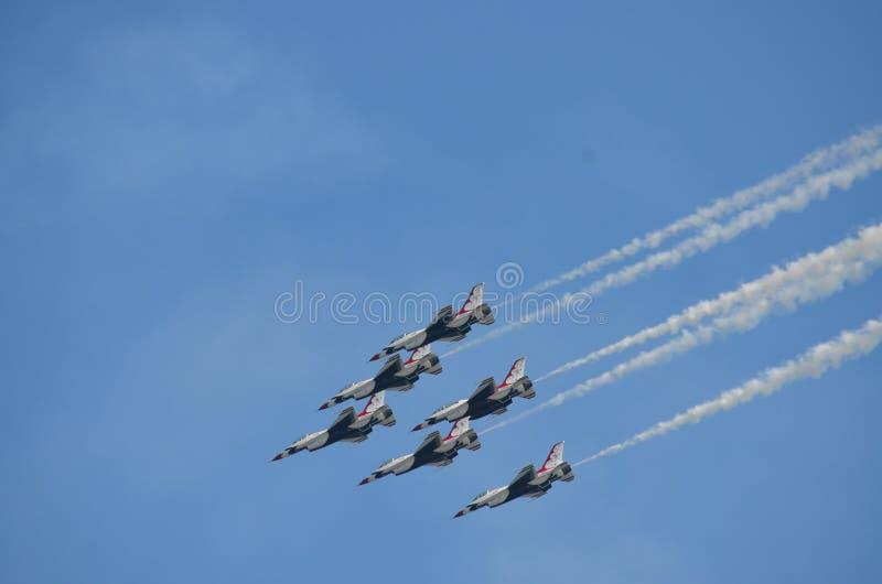 Dżetowi samoloty zdjęcia stock