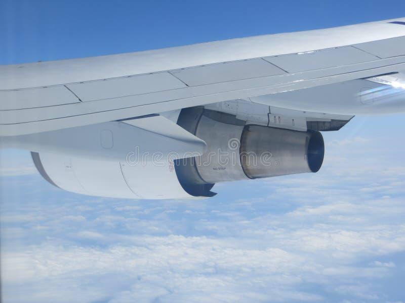 747 Dżetowy silnik fotografia stock