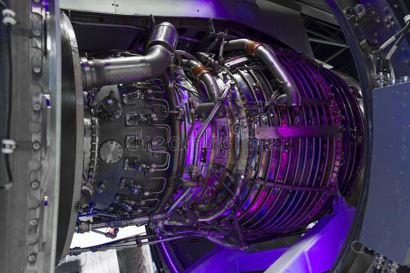Dżetowy silnik obraz stock