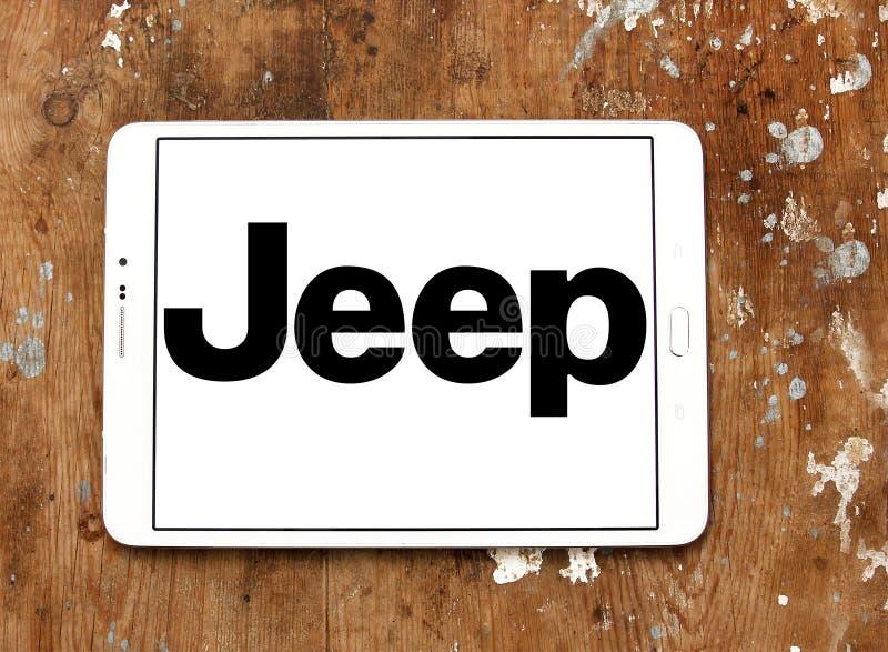 Dżipa samochodu logo zdjęcie royalty free